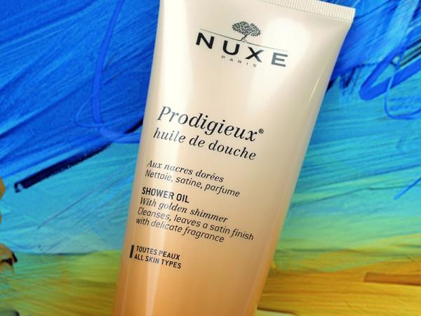 Масло для душа Nuxe Prodigieux Huile de Douche Shower Oil – отзыв