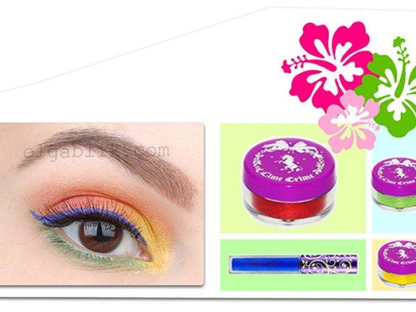Летний цветной макияж глаз – пошаговый фото-урок