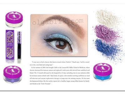 Зимний макияж глаз пошаговый фото-урок