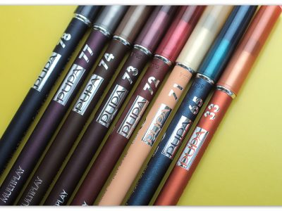 Карандаш для глаз Pupa MultiplayEye Pencil: отзывы и свотчи