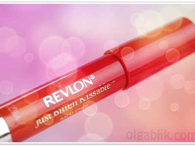 Бальзам для губ Revlon Just Bitten Kissable Balm Stain: отзывы