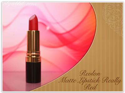 Матовая красная помада Revlon Matte Lipstick Really Red. Отзывы. Фото. Swatches.