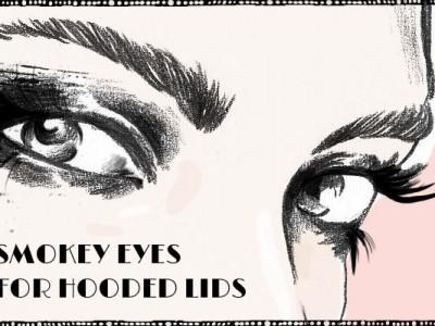 Smoky eyes для нависшего века – схемы и примеры макияжа глаз
