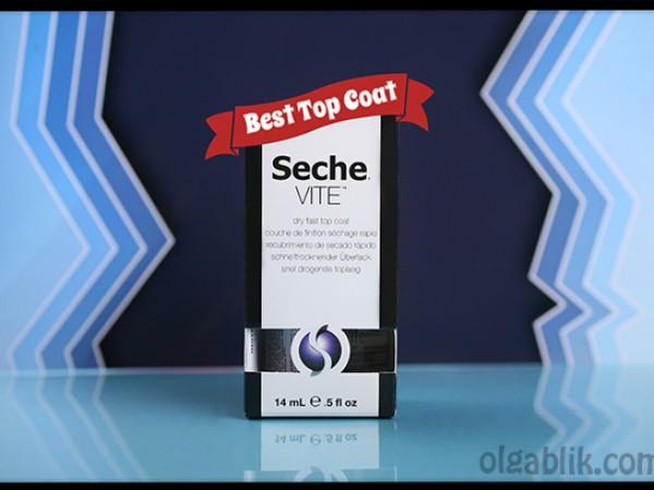 Seche Vite dry fast top coat – скоростная сушка с особенностями.