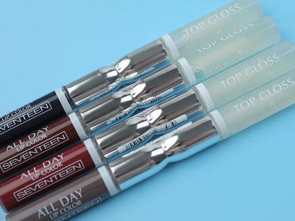 Насколько стойкая помада-блеск Seventeen All Day Lip Color?