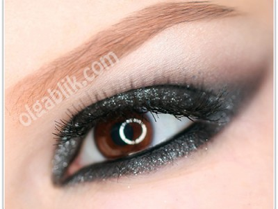 """Видео-урок: Новогодний макияж Smoky eyes """"Чтоб сияло и мерцало!"""""""