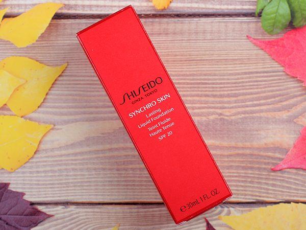 Тональный крем Shiseido Synchro Skin Lasting Liquid Foundation – отзыв