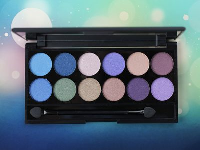 Палетка теней Sleek I-Divine Supernova Palette – отзыв и макияж