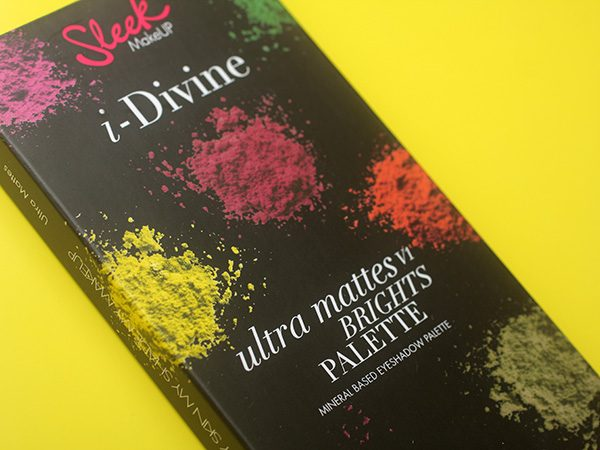 Sleek I Divine Ultra Mattes V1 Brights Eyeshadow Palette: отзывы
