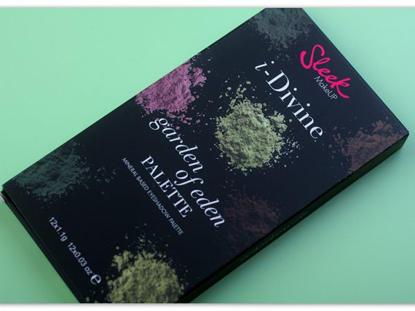 Палетка теней Sleek Garden of Eden i-Divine Eyeshadow Palette: отзыв