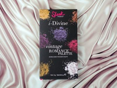 Палетка теней Sleek I-Divine Vintage Romance Palette: отзыв