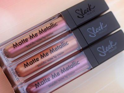 Жидкая матовая помада Sleek Matte Me Metallic: хуже не бывает!