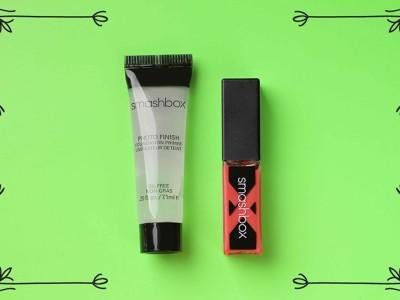 База под макияж Smashbox и лак для губ – отзыв