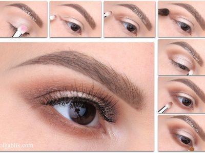 Как растушевать тени на глазах к виску – пошаговый макияж