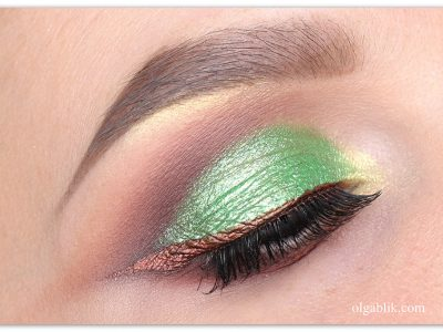 Как сделать весенний макияж глаз — пошаговая инструкция