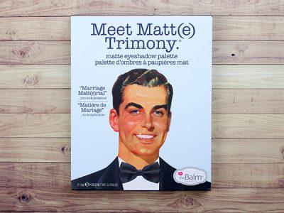 Палетка теней theBalm Meet Matt(e) Trimony palette – отзыв
