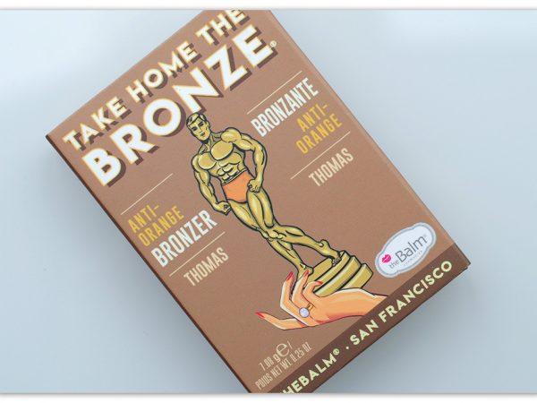 Бронзер Take Home The Bronze Thomas – theBalm: отзывы