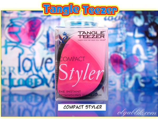 Расческа Tangle Teezer Compact Styler. История создания.