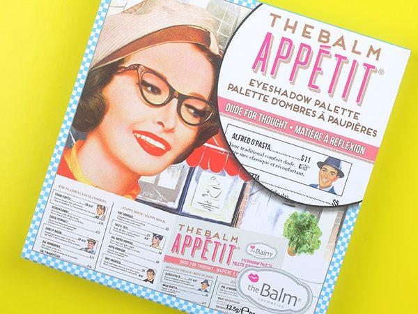 Палетка теней для век theBalm Appetit – отзыв, свотчи, макияж