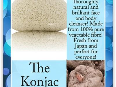 Спонж Konjac Sponge: как работает губка для умывания