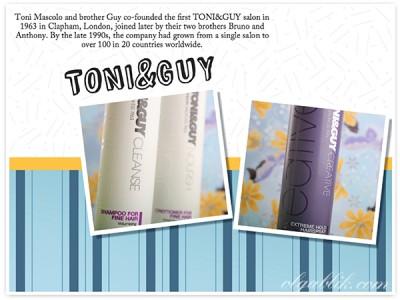 Toni&Guy – лак для волос, шампунь, кондиционер – отзывы