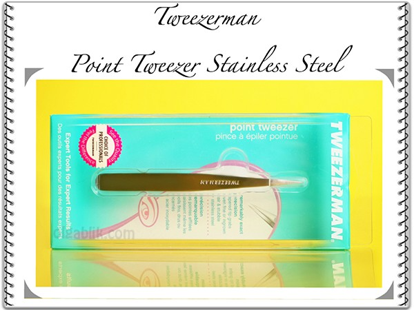 Пинцет для бровей Tweezerman Point Tweezer Stainless Steel.