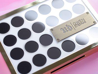 Urban Decay Gwen Stefani Eyeshadow Palette – отзывы, свотчи, макияж