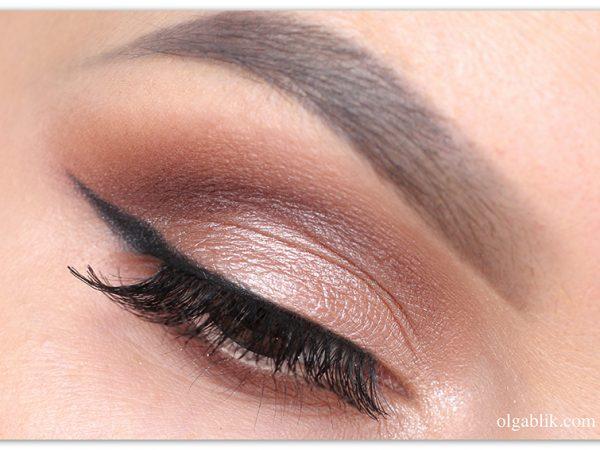 Как красить глаза коричневыми тенями пошагово