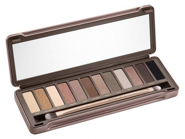 Urban Decay Naked 2 Eyeshadow Palette: отзывы и макияж