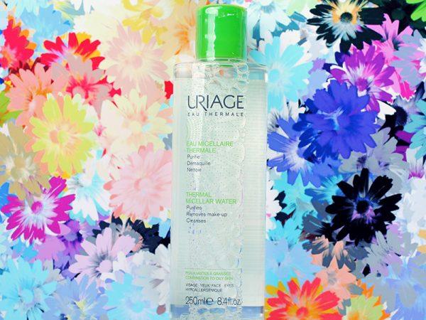 Мицеллярная вода Uriage для жирной кожи и комбинированной кожи