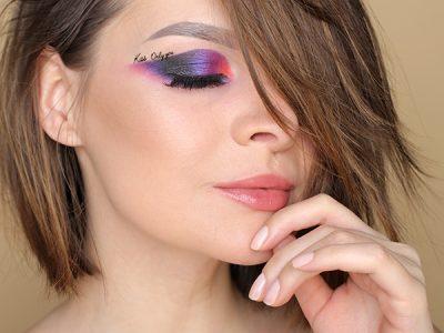 Необычная идея макияжа на 14 февраля – пошаговый урок