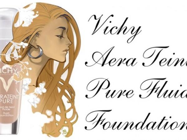 Тональный флюид Vichy Aera Teint Pure Fluid Foundation – отзывы