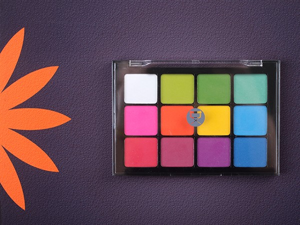 Viseart Editorial Brights Palette 08 – отзывы, фото, макияж, свотчи