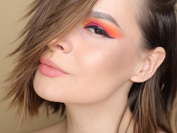 Viseart Eyeshadow Palette – 08 Editorial Brights: Makeup Tutorial