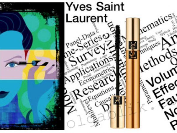 Скандальная тушь для ресниц Yves Saint Laurent Mascara Volume Effet Faux Cils Noir Radical.