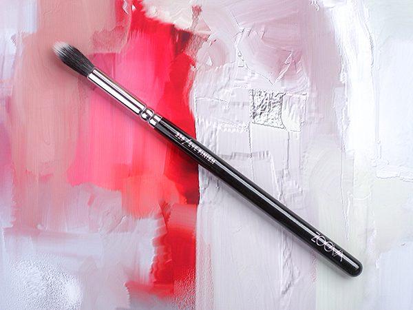 ZOEVA 229 Eye Finish Brush – отзыв на кисть для макияжа глаз
