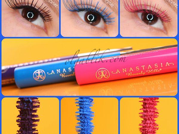 Цветная тушь для ресниц Anastasia Beverly Hills: отзывы