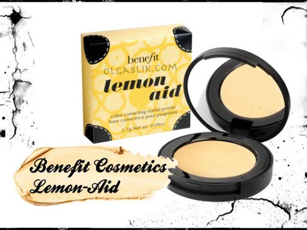 Benefit Lemon-aid Colour Correcting Eyelid Primer: отзывы