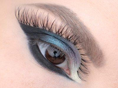 Фантазийный макияж глаз со странностями…