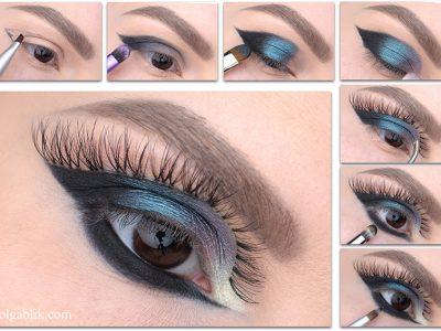 Креативный макияж глаз пошагово: 10 схем нанесения теней