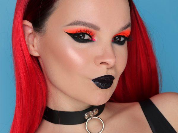 Дерзкий макияж для карих глаз: эффектный образ