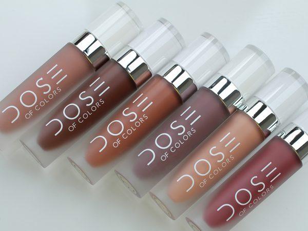 Жидкая губная помада Dose of Colors Matte Lipstick – отзывы