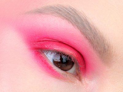 Розовый макияж глаз: жизнь в розовом цвете