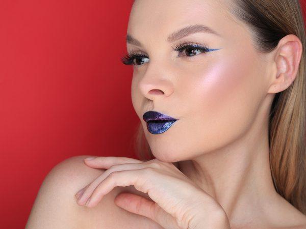 Как сделать дуохромный макияж глаз и губ: быстрый способ