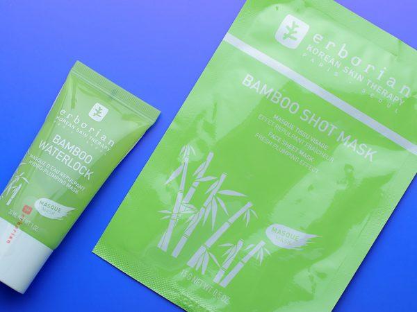 Увлажняющие маски для лица Erborian Bamboo – отзыв