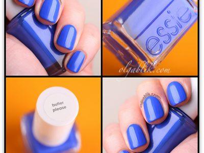 Essie Nail Lacquer–Butler Please: королевский лак для ногтей