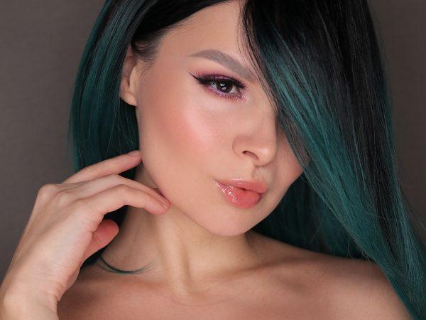 Фиолетовый макияж глаз на каждый день: видео-урок