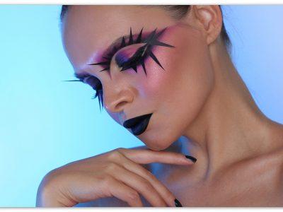 Креативный макияж наХэллоуин: пошагово