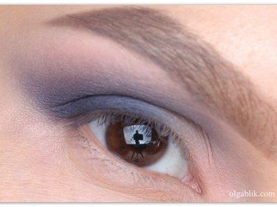 Дымчатый макияж глаз серыми тенями – пошаговый фото-урок