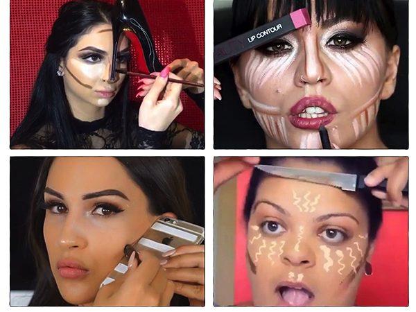 Инстаграм: макияж, как пародия…